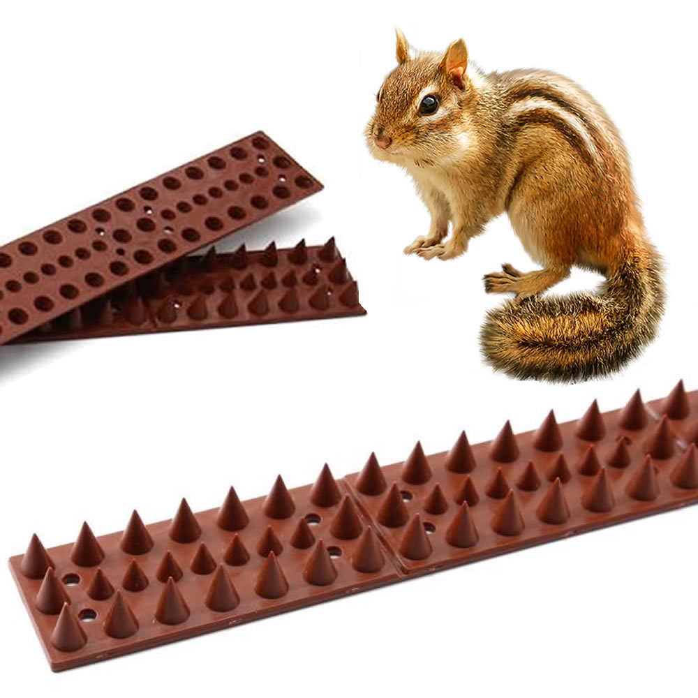 anti chipmunk plastic spikes